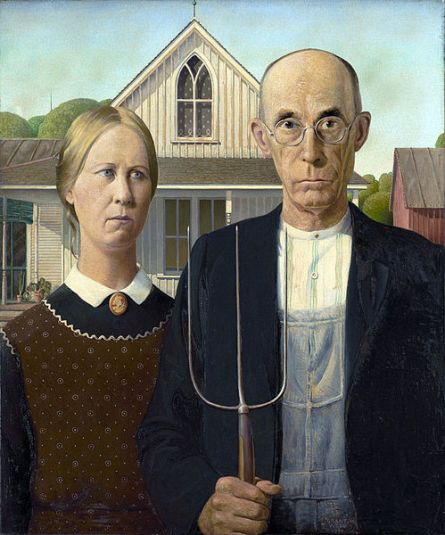 1930-Grant Wood_-_American_Gothic