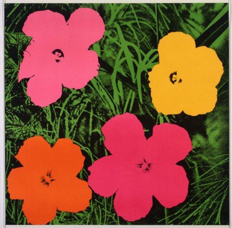 Andy Warhol, Flowers, 1962