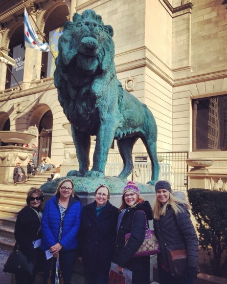 Art Teachers at the Art Institute of Chicago
