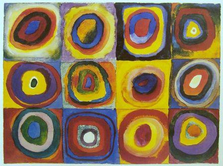 Farbstudie-Quadrate Wassily Kandinsky 1913