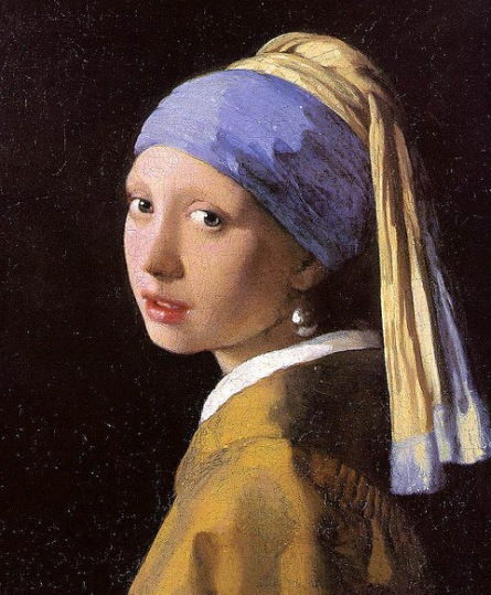 Johannes Vermeer, Girl With a Pearl Earring, 1865