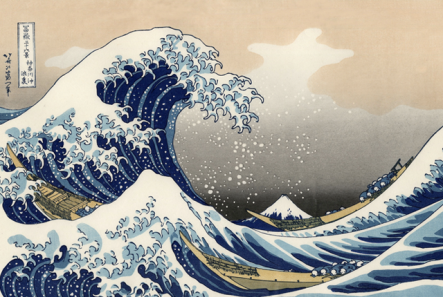 Katsushika Hokusai, The Great Wave, 1829-1832