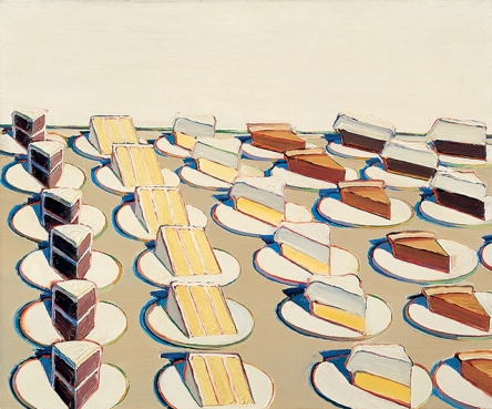 Wayne Thiebaud, Pie Counter, 1963