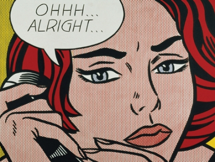 Roy Lichtenstein, Ohhh...Alright..., 1964